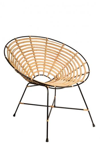 Stoelen Kubu armchair Dutchbone