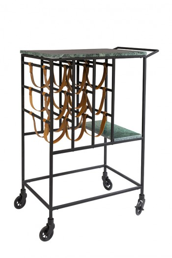 Tafels Mil serving trolley Dutchbone