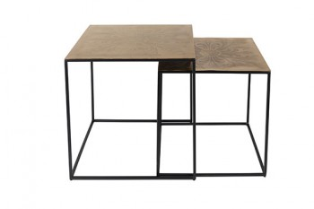 Tafels Saffra side table Dutchbone