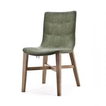 Stoelen Chair Neba with Oak leg Eleonora