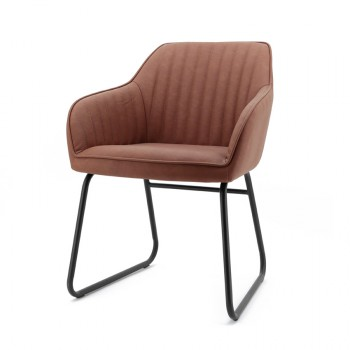 Stoelen Chair Marilyn with black legs Eleonora