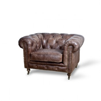 Zetels Armchair Chesterfield Eleonora