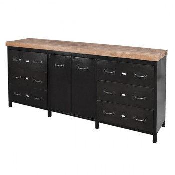 Kasten Sideboard 2 doors 6 drawers Eleonora
