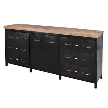 Sideboard 2 doors 6 drawers meubelen
