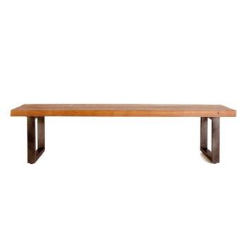 Tafels Wooden Mango bench - 140x40 cm Eleonora