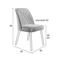 stoel SALWL62 Salvator Meubelen