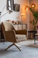 Zetels Robusto lounge chair Dutchbone