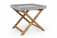 Buitenkeuken WOODFORD TRAY TABLE NATURAL COLOR BRAFAB BUITENMEUBELEN