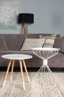 Verlichting Tripod Wood floor lamp Zuiver