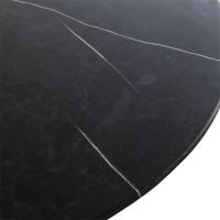 Tafels Eettafel marmer rond - 137x76 Eleonora
