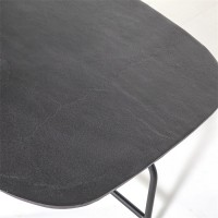 Tafels Salontafel Charles zwart - 147x70 Eleonora