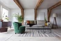 Tapijten Carve carpet Dutchbone