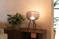 Verlichting Smokey table lamp Zuiver