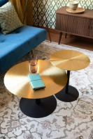 Tafel Snow Brushed coffee table Zuiver