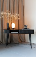 kast Barbier Black console table Zuiver