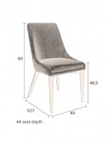 Stoelen Juju chair Dutchbone