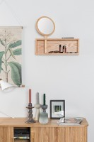 Decoratie Kandy wall shelf Zuiver