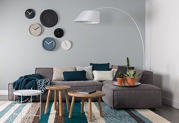 Zuiver Leaning Spiegel : Decoratie ceramic time zuiver